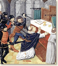 The Murder of Thomas Becket, 1170