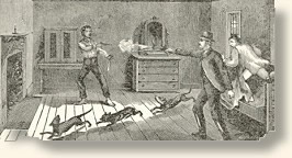 561506c02 The death of Billy the Kid From a contemporary illustration