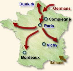 France Surrenders, 1940