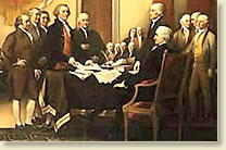the committee presents its draft of the declaration of to the continental congress - The Declaration Of