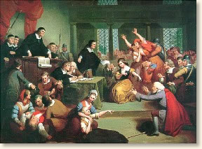 mass hysteria in the salem witchcraft trials Free the salem witch trials papers the witchcraft hysteria in salem, massachusetts resulted from the strict puritan code which aroused the girls interest.