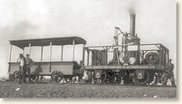 America's First Steam Locomotive, 1830