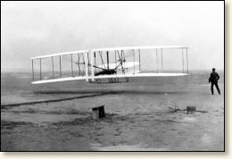 And have wright brothers the fist plane state affairs